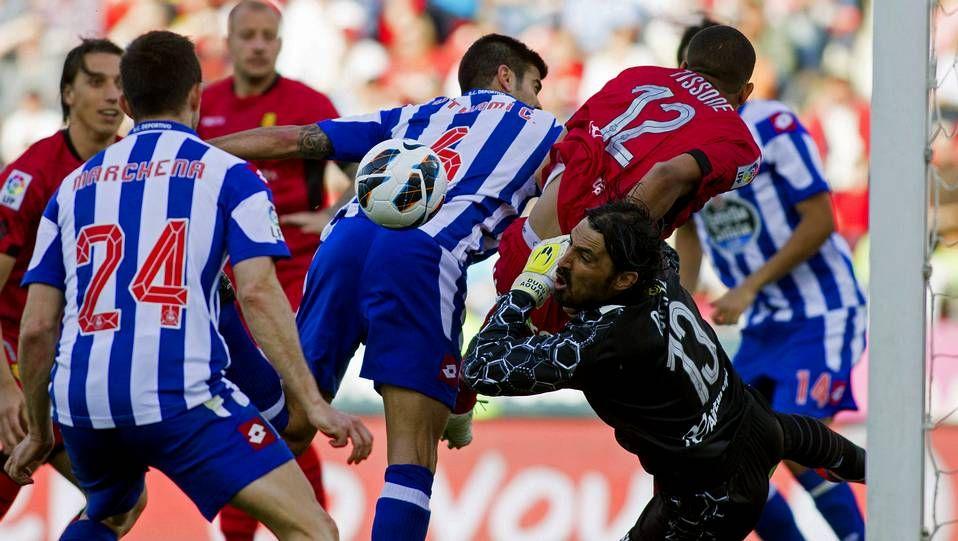 El Mallorca 2 - Deportivo 3, en fotos