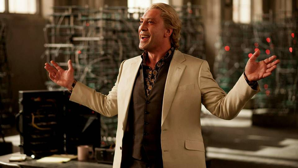 Javier Bardem, en su papel de Silva, el villano de la nueva entrega de James Bond, «Skyfall»