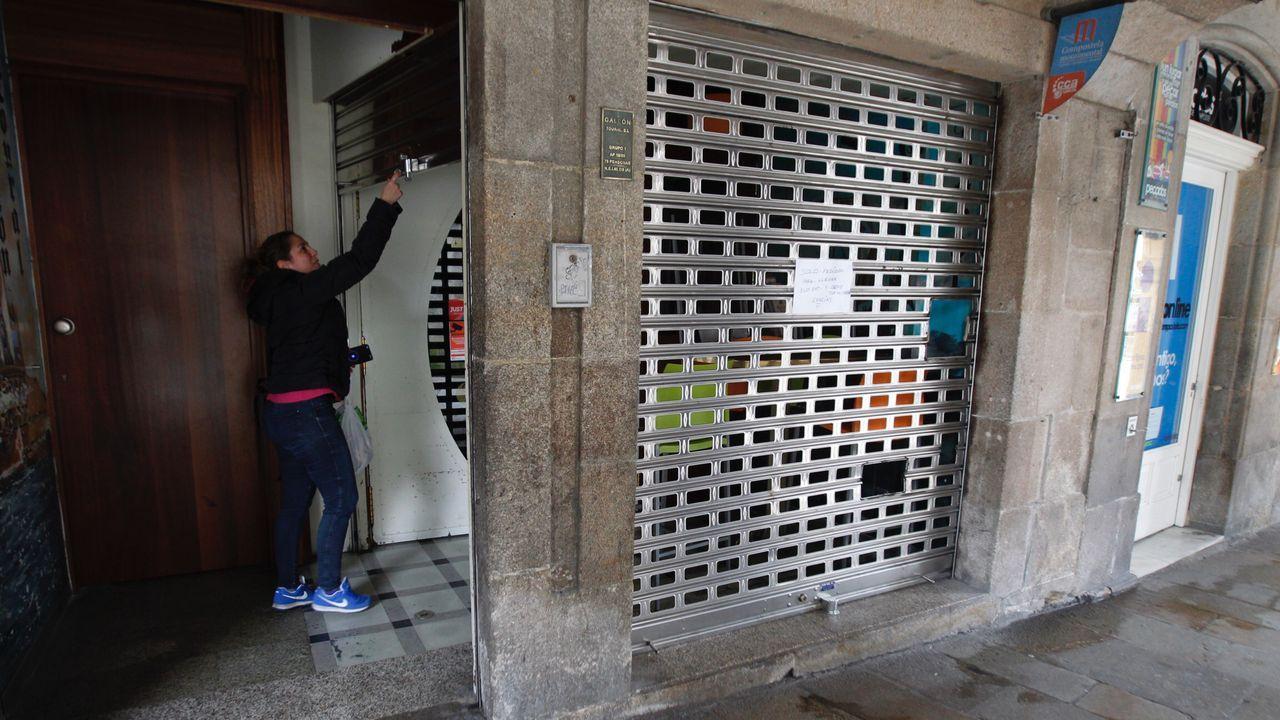 Apertura en el Toural, en Santiago, de un restaurante para servir comidas para llevar