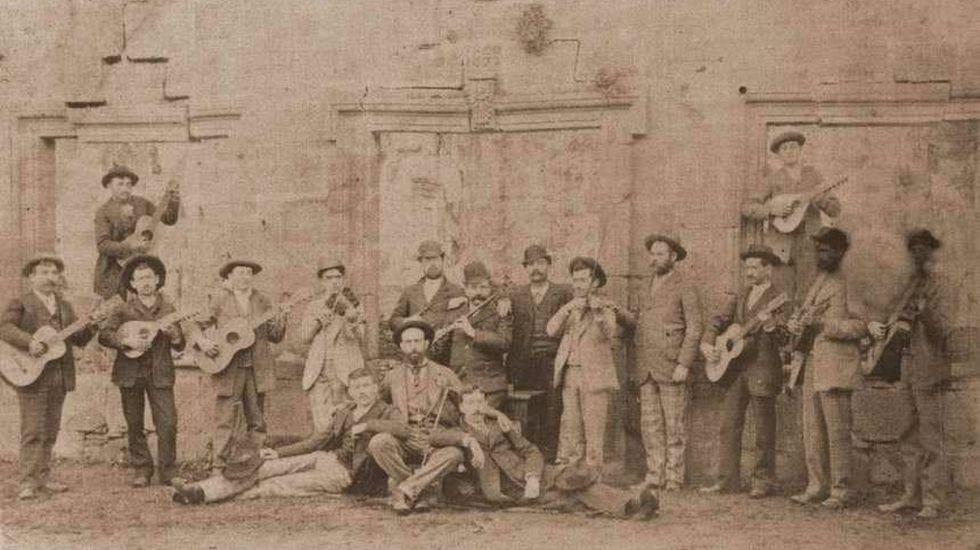 Orquesta de la Unión Filarmónica, creada en Monforte en el año 1893