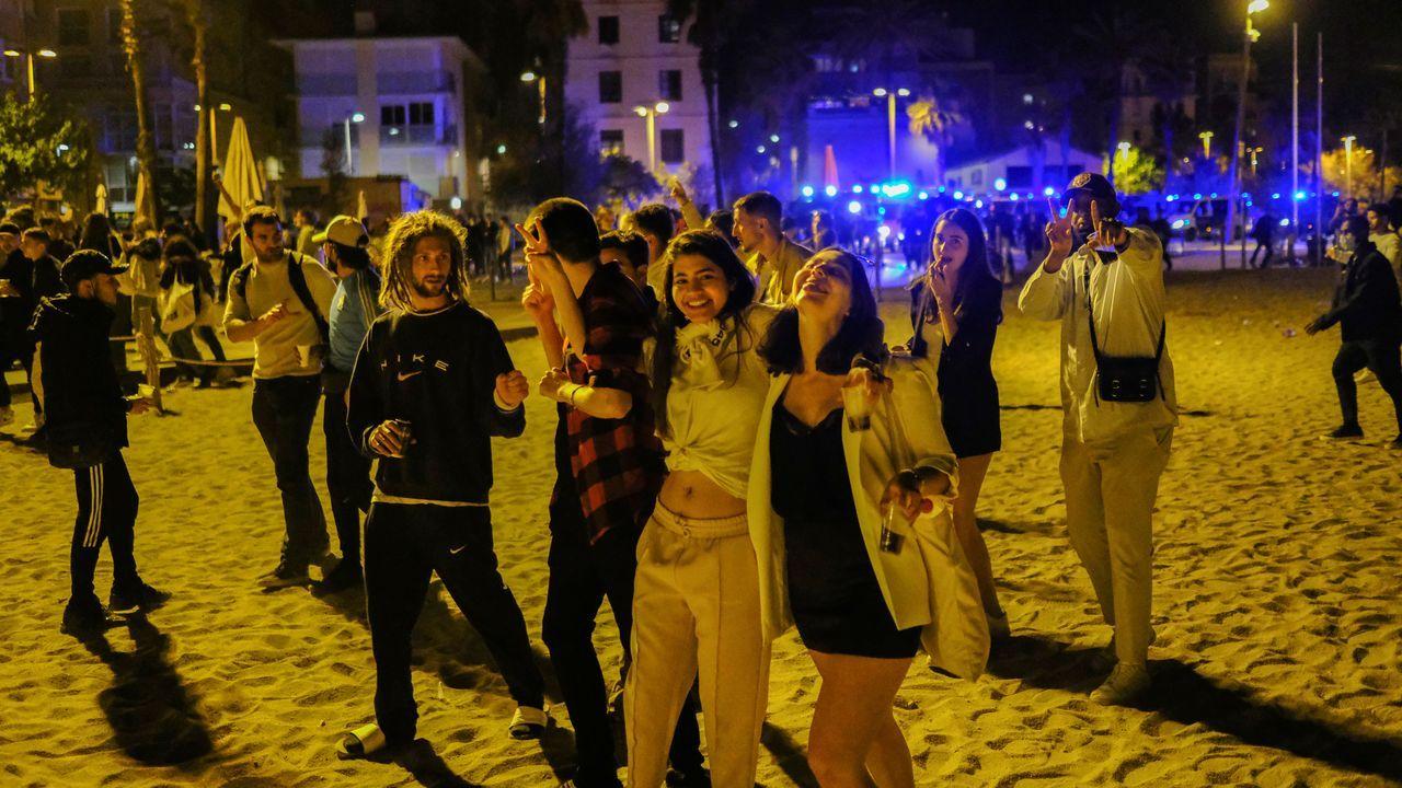 Nueva noche de desalojos en Barcelona