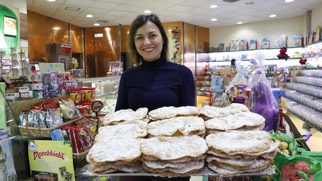Marta Carballo es la propietaria de Enredos