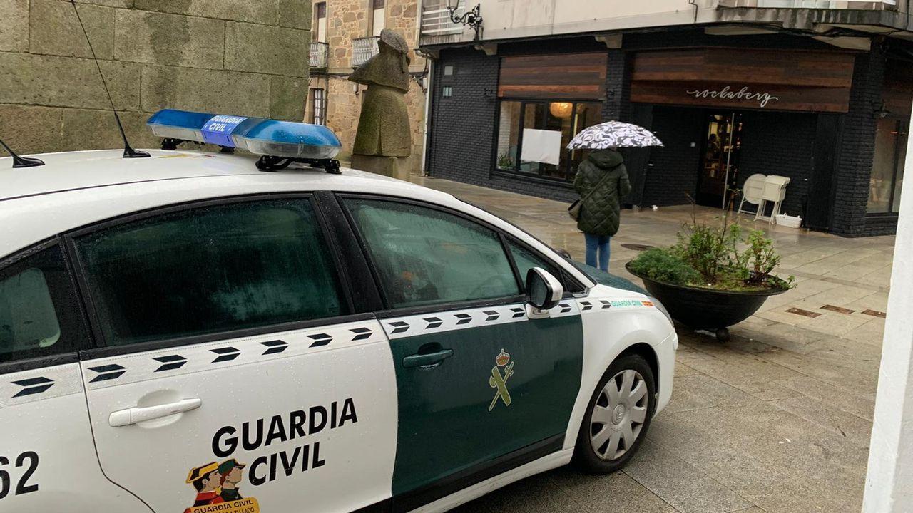 La Guardia Civil refuerza la vigilancia en el concello