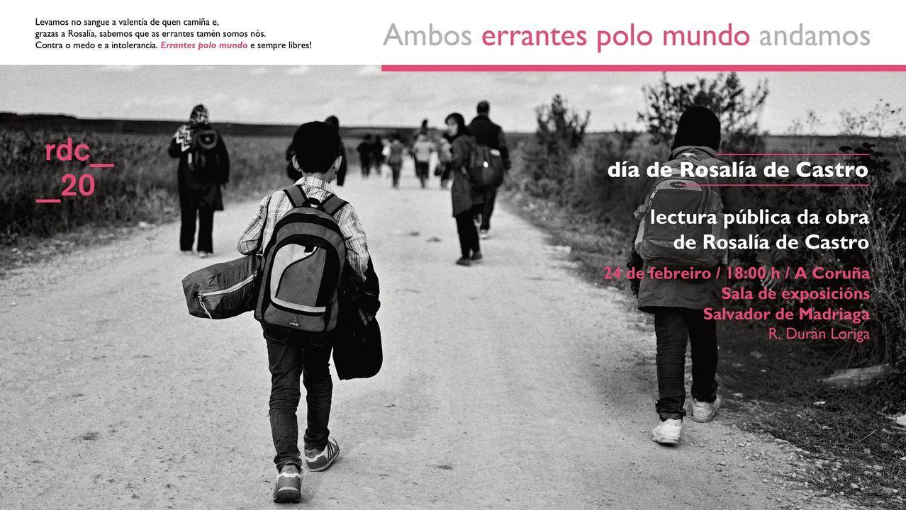 Luns de Entroido en Arousa.Acto de homenaxe a Alexandre Bóveda en Ourense