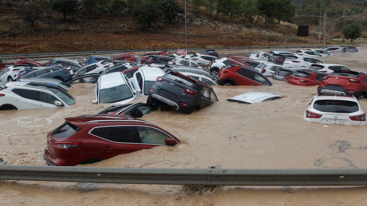 ¿Por qué se llama gota fría?.LLuvias en Vilagarcía