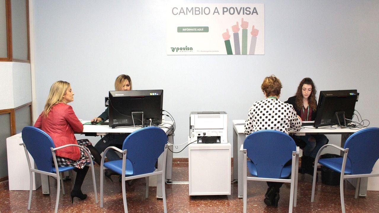 Imagen de archivo del servicio de urgencias de Vigo saturado