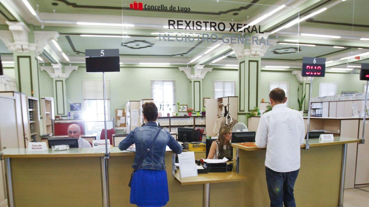 Imagen de archivo del registro del Concello de Lugo