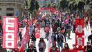 Así celebran los trabajadores gallegos elPrimero de Mayo