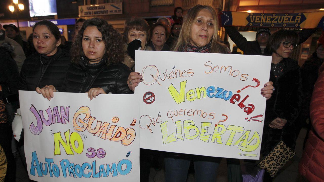 Concentración en Vilagarcía