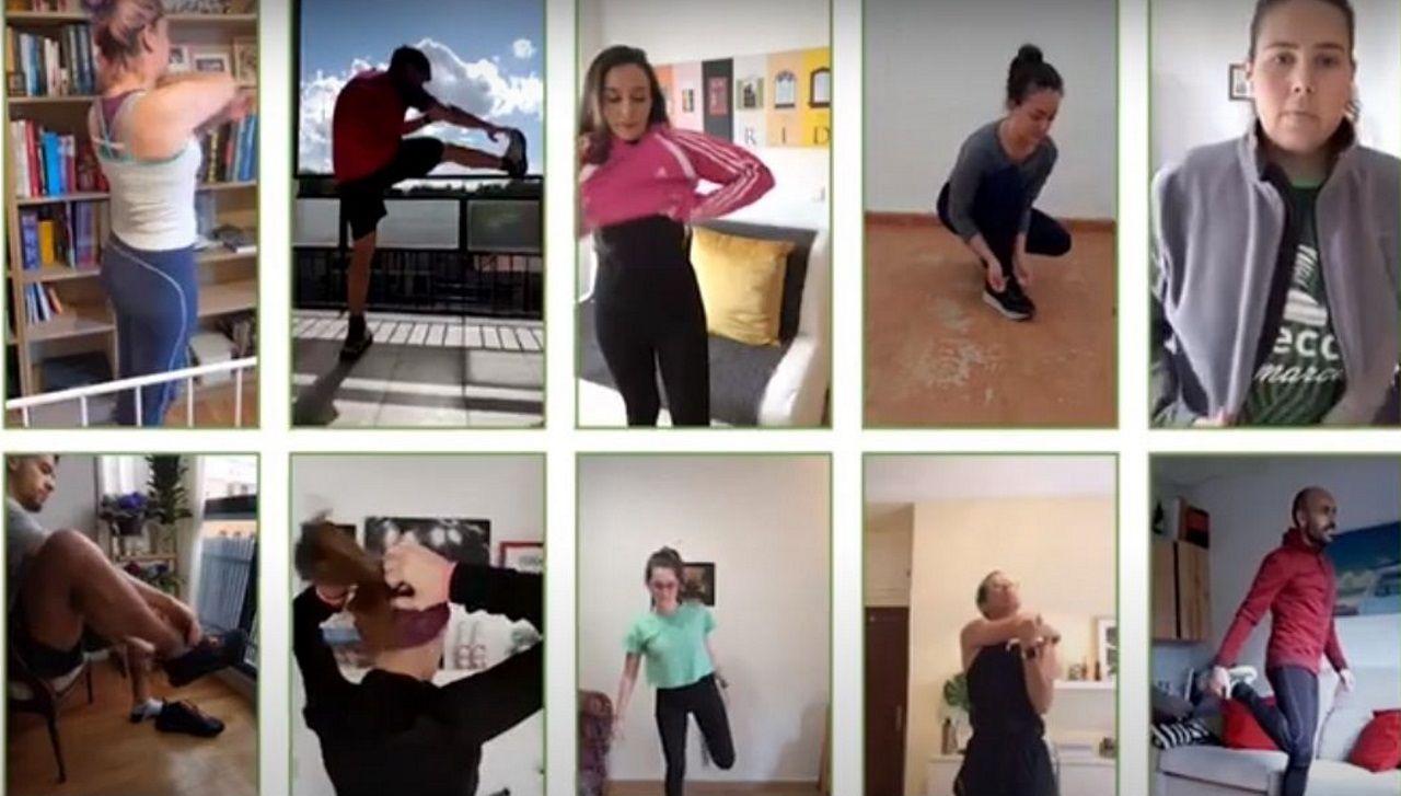 Los participantes han subido a las redes sociales fotos de su preparación para la prueba