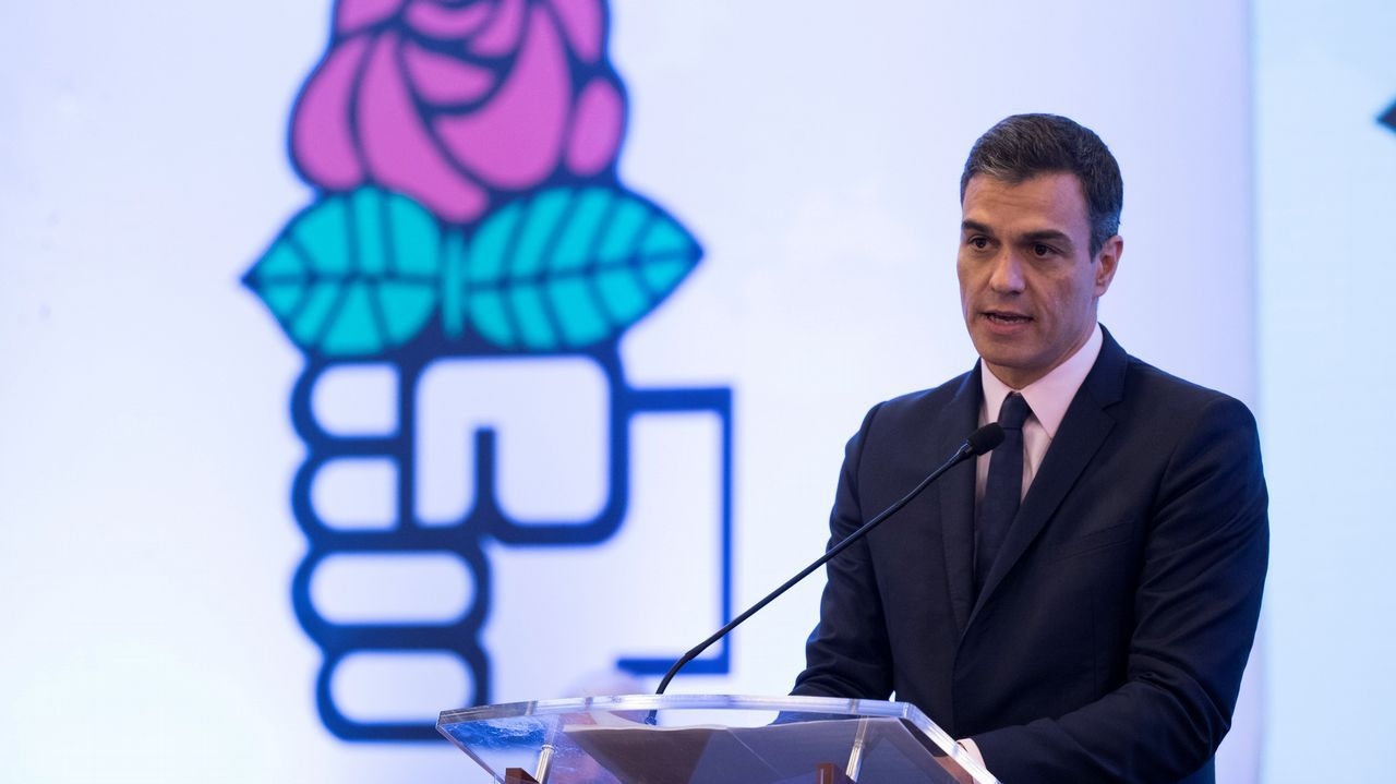 La oposición a Maduro vuelve a las calles.Pedro Sánchez, durante la clausura del Consejo de la Internacional Socialista en Santo Domingo