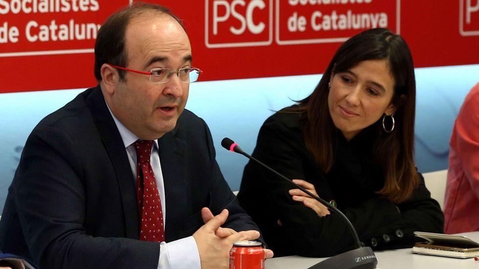 Rebeldes en el PSOE.Javier Fernández y Miquel Iceta
