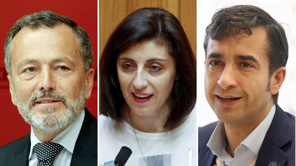 Rajoy participa enun acto de Nuevas Generaciones en Ourense.El tramo que une la autovía con O Bao sigue a la espera de su desdoblamiento en cuatro carriles