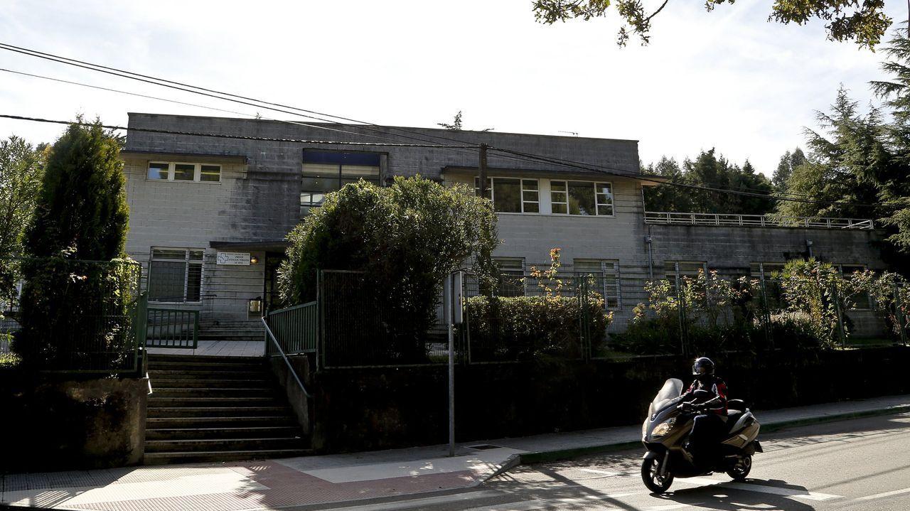 El centro de salud de Mos, en imagen de archivo