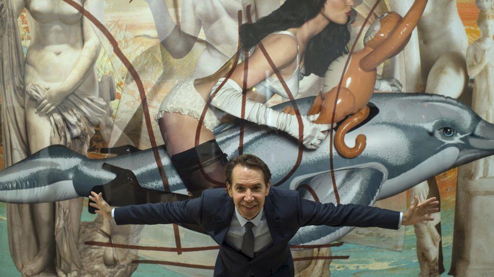 Jeff Koons conquista Bilbao.Los empresarios se quejan de que los horarios no coinciden con la afluencia de visitas.