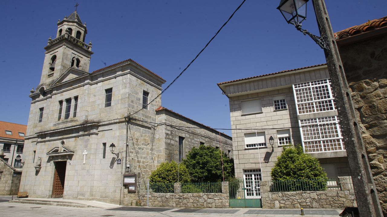 Los tesoros de la parroquia de San Vicente de O Grove