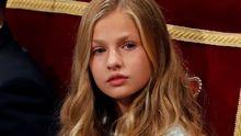 Leonor cumple catorce años
