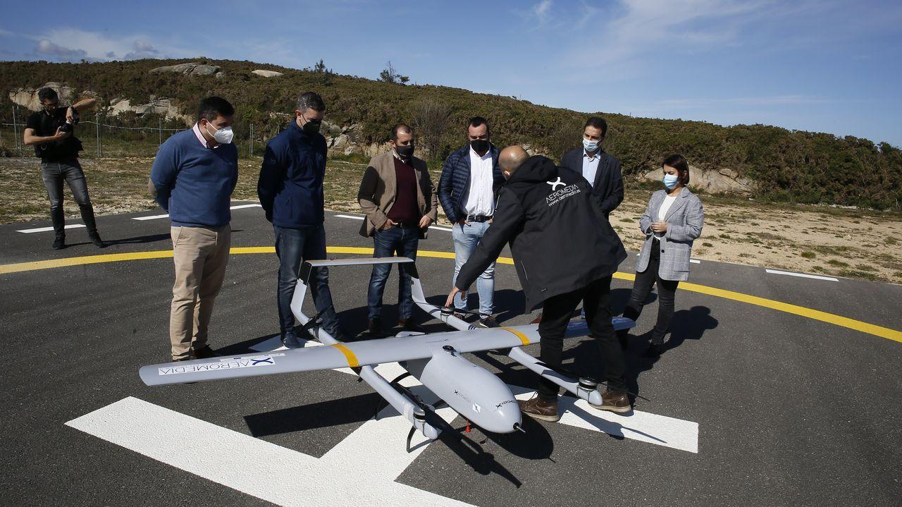 La presentación de la solución tecnológica Xestal se presentó en el Centro Experimental Áncora, en el polígono de Cuíña, en Cervo