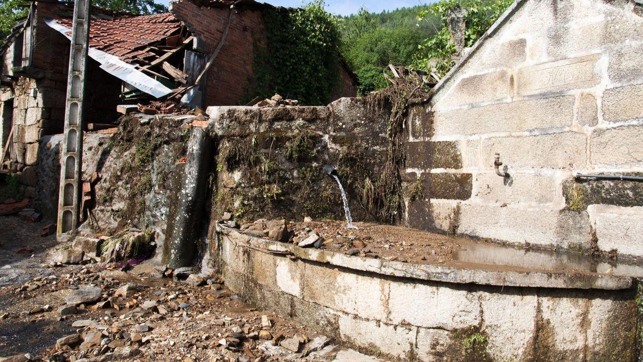 inundaciones gijon temporal frio lluvia asturias.Viveiro lleva años esperando la mejora de su saneamiento
