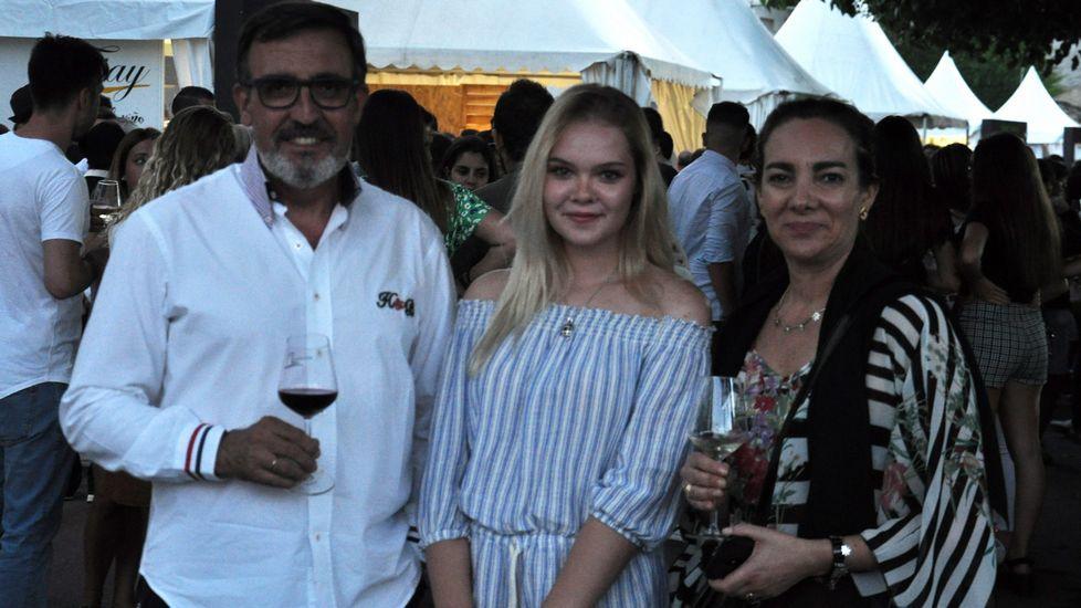Monterrei presume de vino.Viñas en Ribeira Sacra