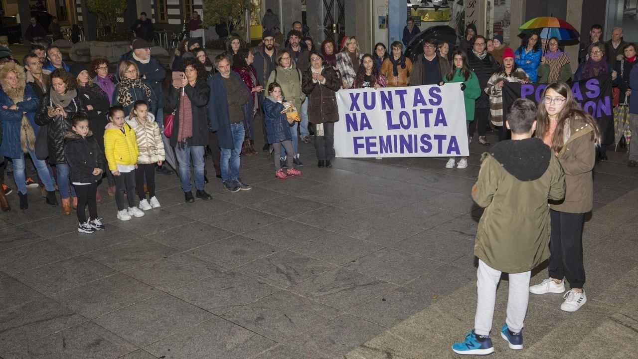 El Black Friday llena las zonas comerciales de A Coruña.Manuel Reija, el lotero coruñés, en una imagen de archivo