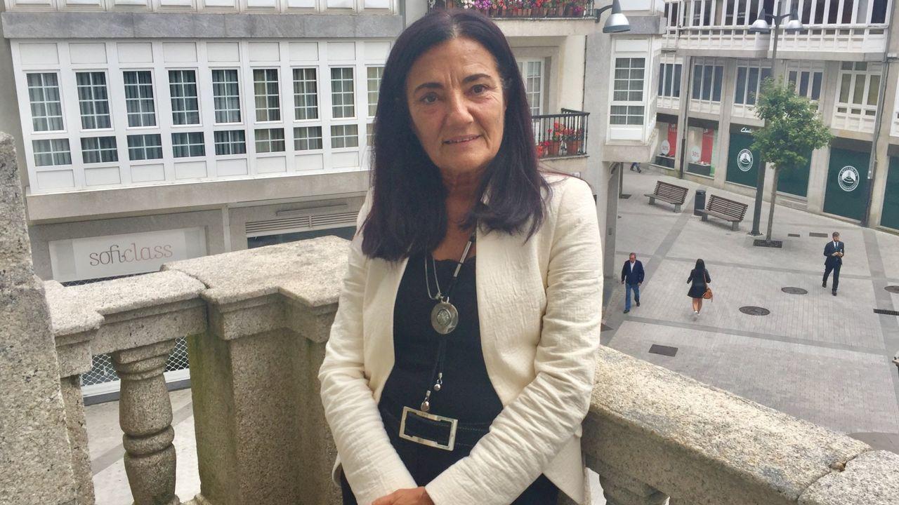La subdelegada del Gobierno, Isabel Rodríguez, dice que a Lugo llegarán algunos de los nuevos 4.200 guardias civiles