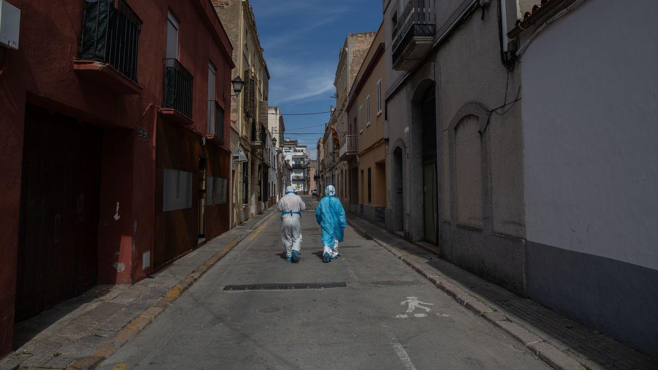 Las imágenes del primer domingo de desconfinamiento.Gijón