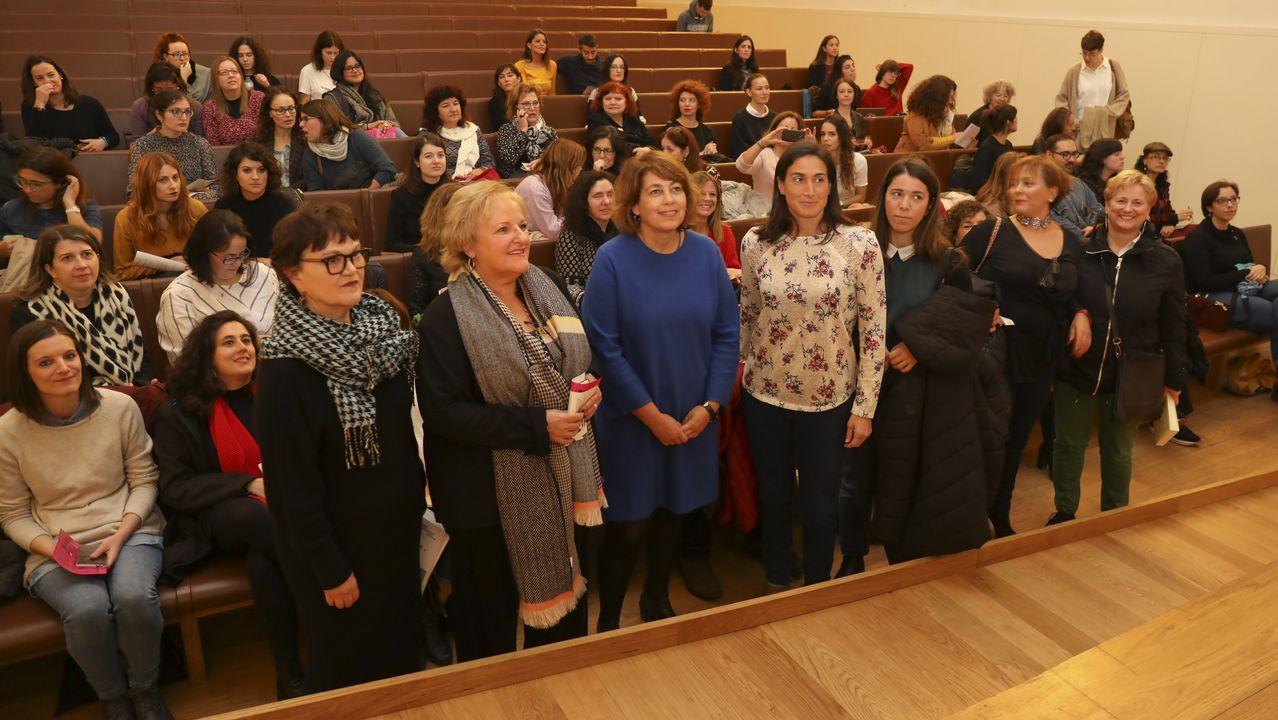 El kilómetrocero del feminismo gallego.Presentación na Deputación de Pontevedra de «María Solinha», de Ignacio Vilar