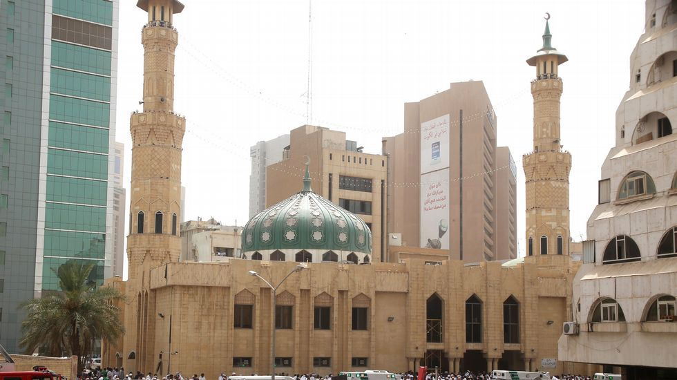La mezquita Al Iman al Sadik, situada en el barrio de Al Sawaber de la capital kuwaití, donde se produjo el atentado