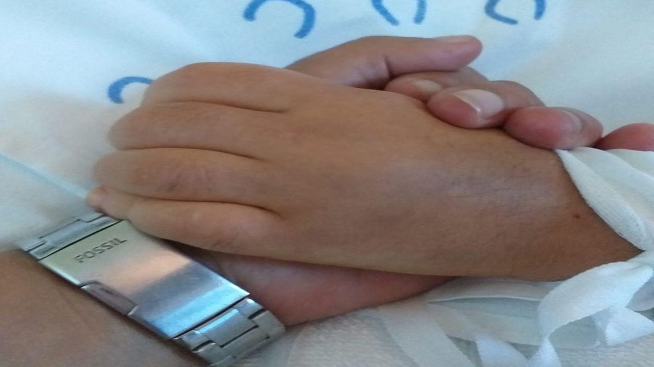 Imagen que compartió la madre de la niña langreana de diez años que necesitaba un trasplante de médula