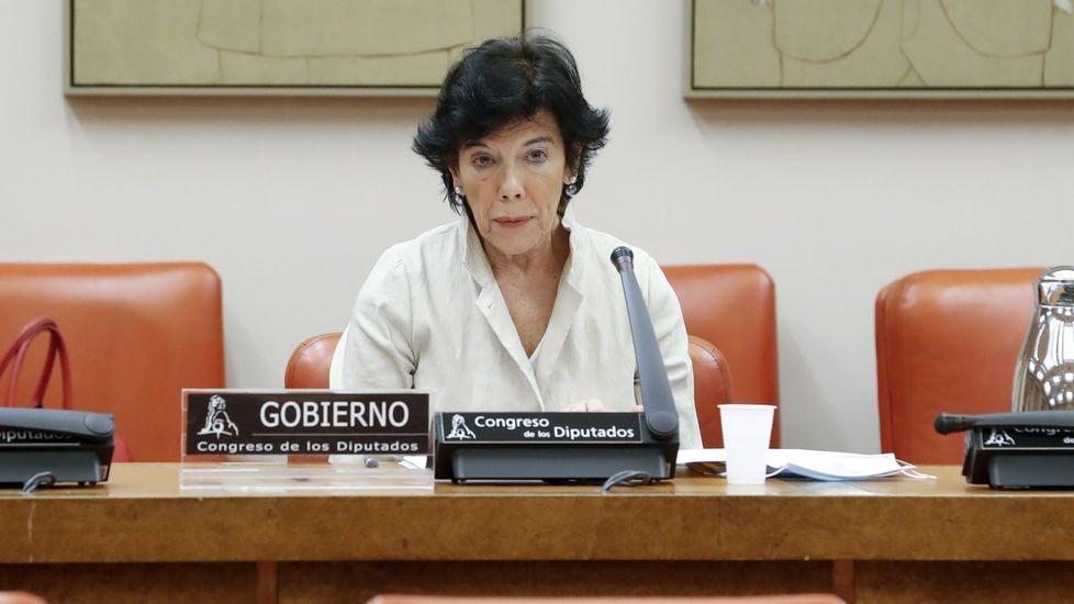 Isabel Celaá, ministra de Educacion y FP