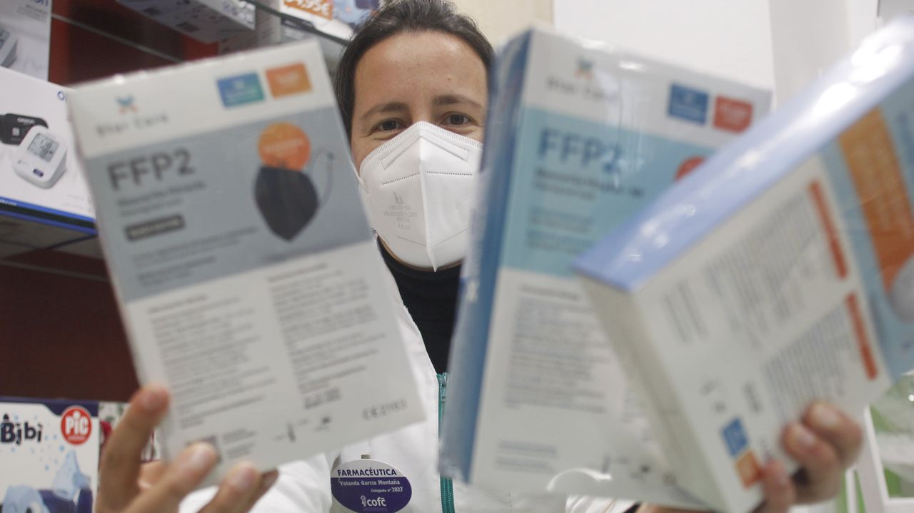 Yolanda García Montaña es farmacéutica en Fene