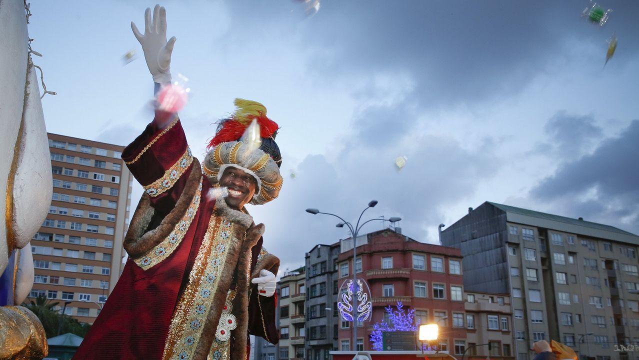 Caballero promete buen tiempo para la Cabalgata de Reyes.CABALGATA DE LOS REYES MAGOS EN A CORUÑA