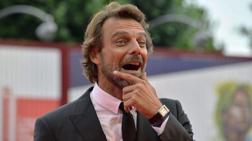 El actor italiano Giancarlo Preziosi