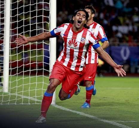 «Parece que poco menos que yo soy Alí Babá».Falcao, la estrella del Atlético, se ha convertido en objeto de deseo de muchos clubes.