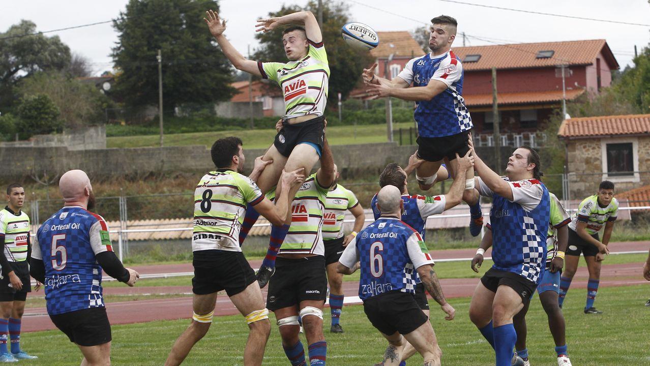 Señé controla un balón en el Castellón-Leganés