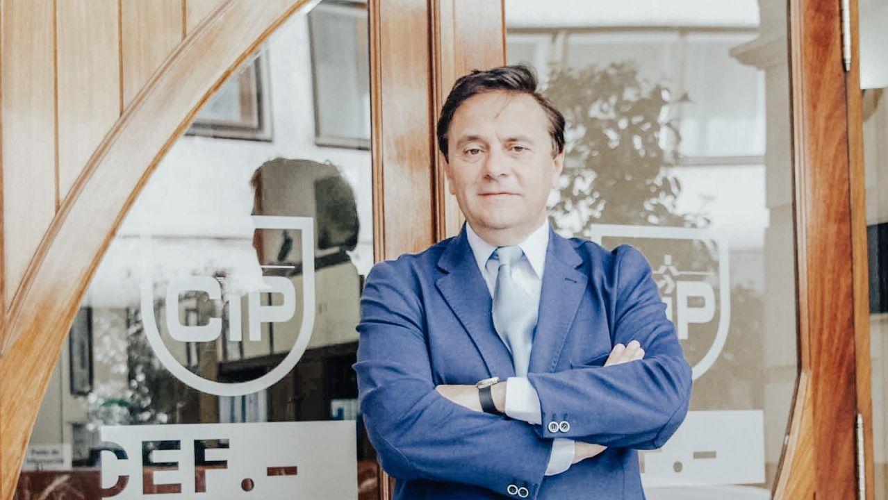 Pedro Rey.Pedro Rey, candidato a presidir la CEG