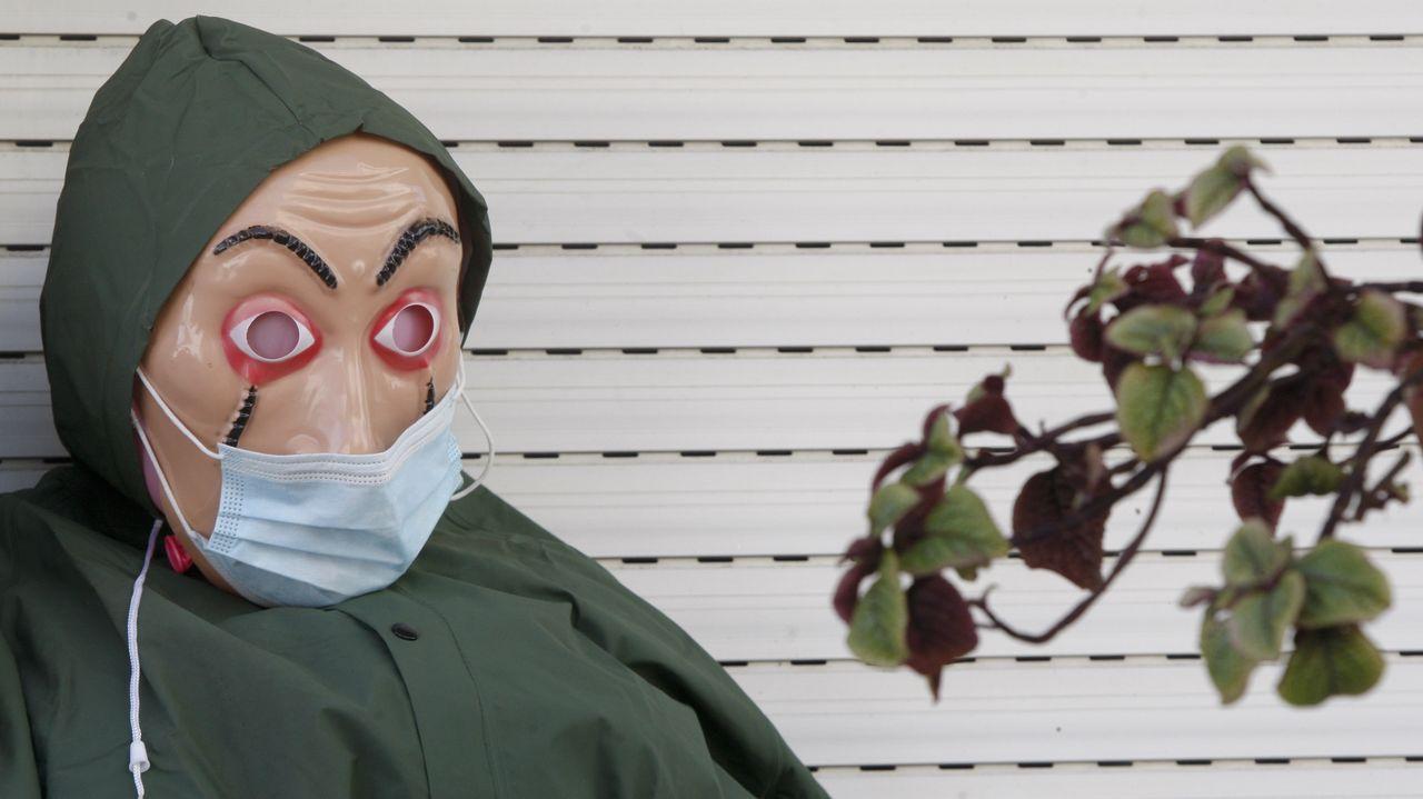 La unidad de reanimación del hospital Montecelo, en Pontevedra, transformada en una unidad de críticos covid