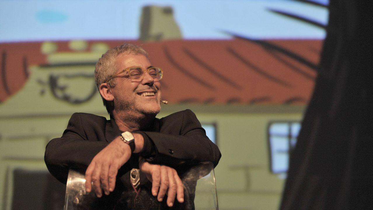 O Festival RIR de Allariz entregou os premios da segunda edición.Un concierto de Milladoiro en el municipio coruñés de Zas