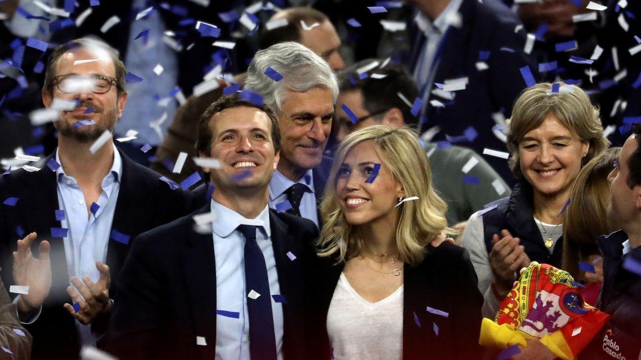Casado reconoce un resultado «muy malo» y lo achaca a la «fragmentación».Colas para votar por correo en Madrid en las pasadas generales. Fue el segundo más alto de la historia