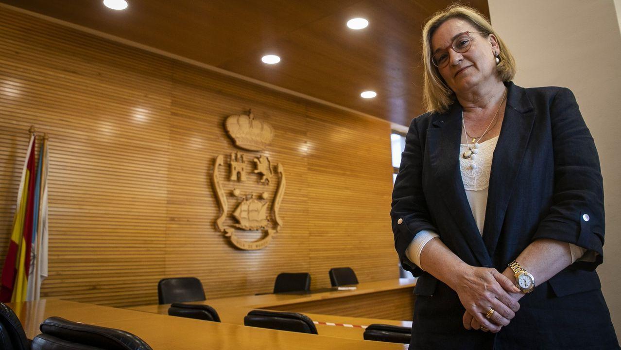 Inés Monteagudo, alcaldesa de Muros