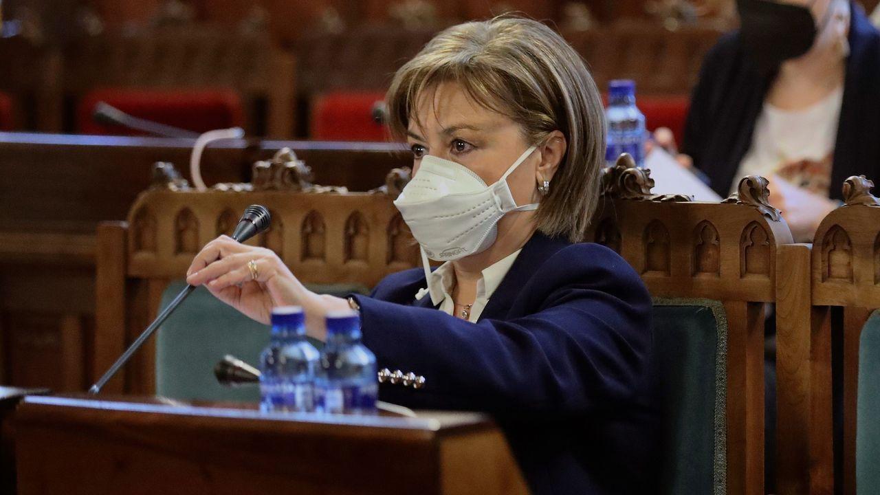 abalde.La fiscal superior del Principado de Asturias, María Esther Fernández