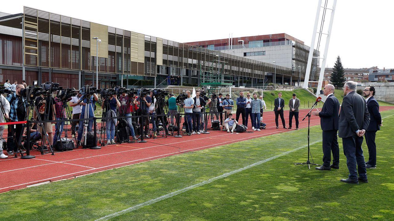 Todos los futbolistas con contrato con el Deportivo.Aleksander Ceferin, presidente de UEFA