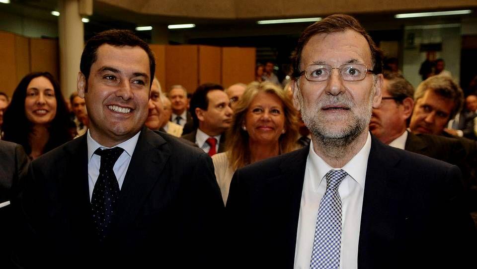 Rajoy durante un evento organizado en Sevilla