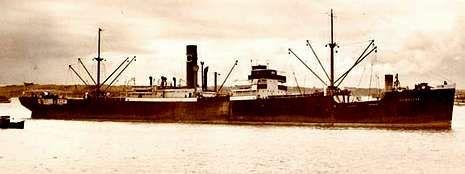 Imagen del Pensilva, que desplazaba más de 4.200 toneladas.