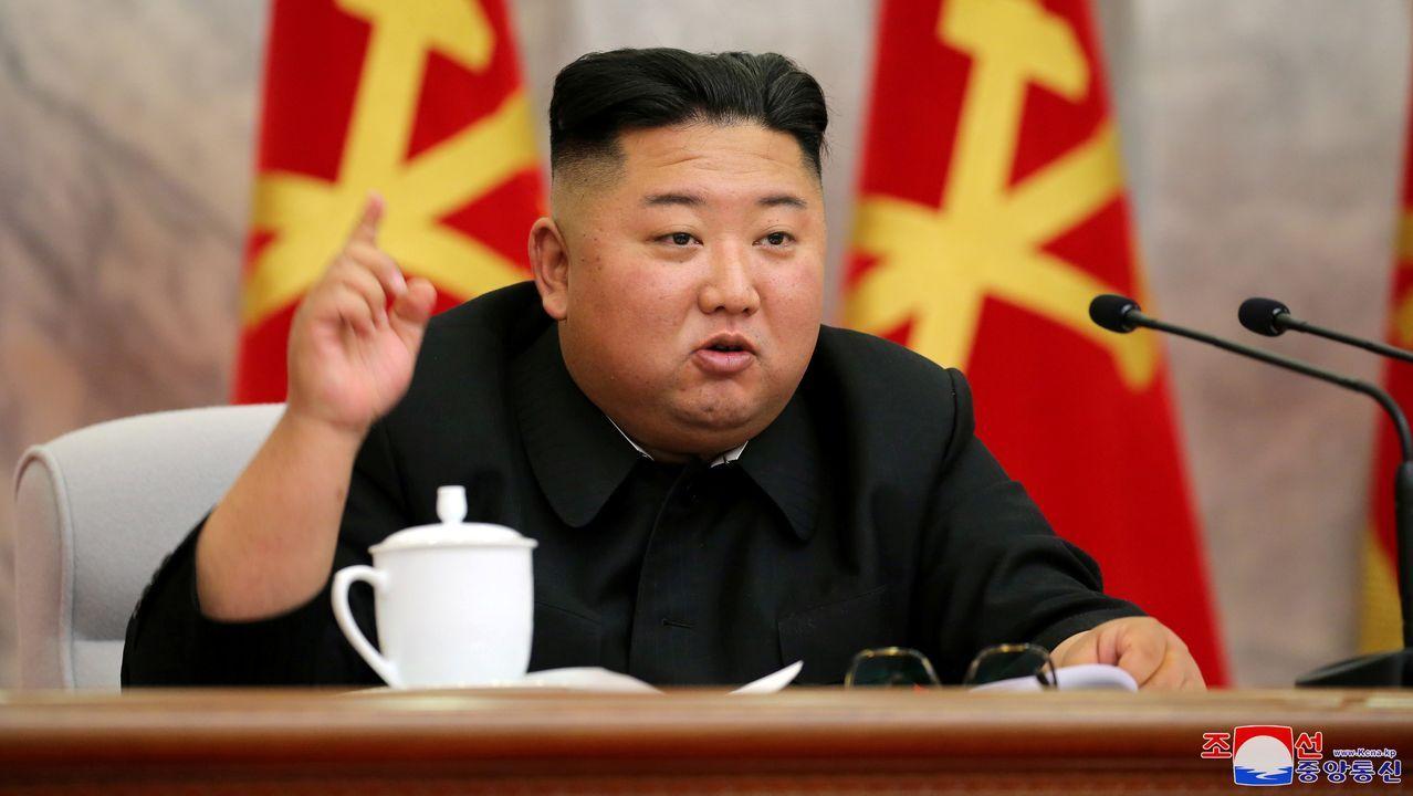 Kim Jong-Un reaparece presidiendo una reunión militar