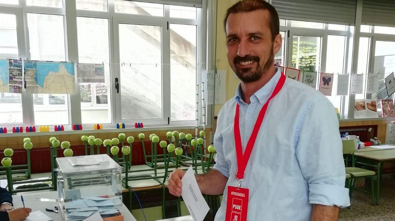 José Ángel Martínez, candidato del PSOE de Mugardos