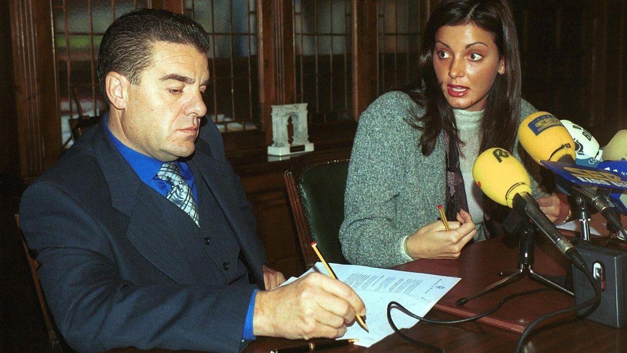 Isamael Álvarez y Nevenka Fernández en una imagen de archivo