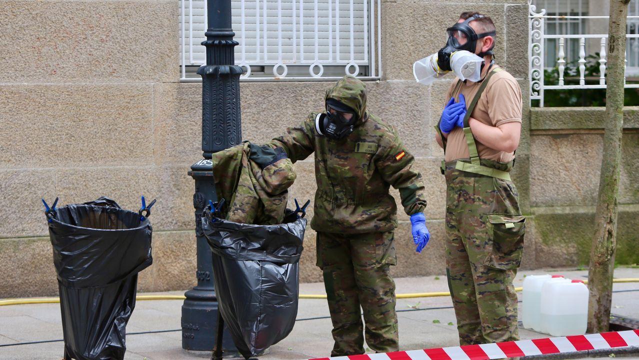 La correcta manipulación de los uniformes usados es vital para garantizar la seguridad de los militares