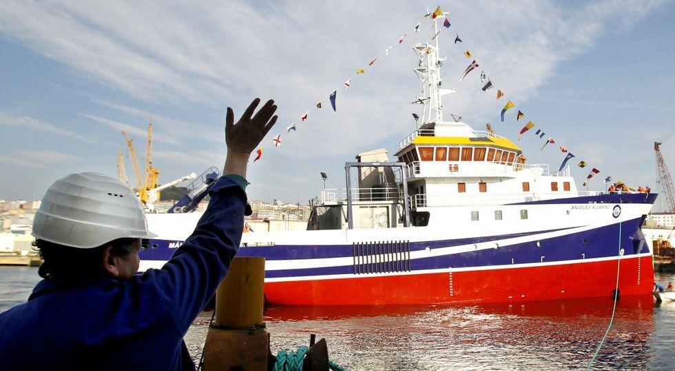 En febrero del 2012 se botó en Vigo (astillero Armón) un buque oceanográfico que lleva el nombre de la científica gallega.